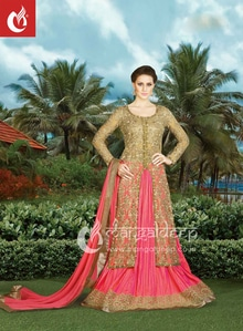 Be the dazzling diva clad in this Golden semi-stiched #Net partywear #salwarsuit Shop now :- https://goo.gl/m98PwL 👗👚 For Live Shopping Click This Link :- https://goo.gl/3tCilt For more information :- Call us @+919377222211 (Whatsapp Available)