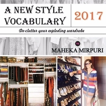 This 2017, free yourself from the tiring trends and bring in #newstyle into your closet. #Mahekamirpuri #BeGlamorous #Fashion2017 #Fashionista #highfashion