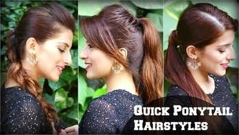 3 CUTE & EASY Everyday Hairstyles With Ponytails For School,College,Work/ Priyanka Chopra Hairstyle #roposolook #roposolove #soroposolove #soroposo #diy #hair #hairdo #hairstyletips #hairstyleoftheday #haircolour #easytodo #easyhairstyle #quickhairstyles #updo #bun #knotmepretty #hairaccessories  #hairstyle