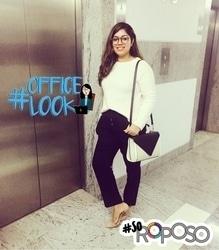 Workwear mode in my @zara oversized glasses!! #zara #officelook #lookbook #lookoftheday #workwear #ootd #officelook #SoRoposo #formalwear