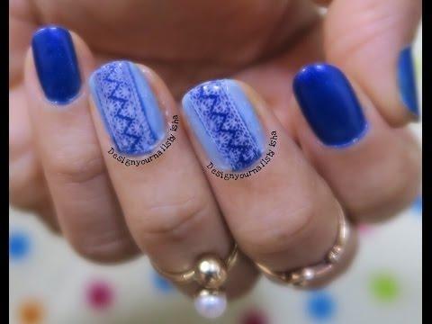 Stamping Nail Art | Lace Design | Designyournailsbyisha . #designyournailsbyisha #ishanailart #creativity #nailartdesign #manicure #nailadesigns #nailartaddict #nailswag #instanails #thebestnailart #lovenailartindia #nailpromote #whatsupnails #stampingnailart #stampdecals #diynaildecals
