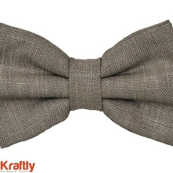 Linen bow for a more stylish you #Kraftly Buy Now: http://bit.ly/2jX0vNl #Onlineshopping #LikeforLike #Picoftheday #FollowforFollow