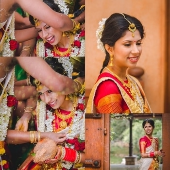 South Indian bridal beauty #makeupbynikkineeladri #southindian #brides #bridalmakeup #bridalmakeupartist #muabangalore #simplicity #traditional #weddding #classy #classicbrides