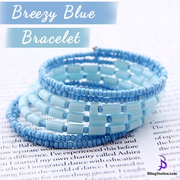 A dreamy blue bracelet is all set to give you a refreshing morning for the day !! #jewelry #bangle #jewelrymaker #jewels #cute #beauty #ootd #shopping #jotd #blingstation #photography #roposodaily #roposolove