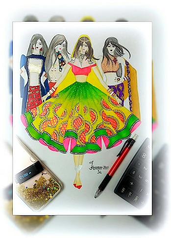 #Design can be #art , #Design can be #Aesthetics , #Design is so #Simple , That's why it is so #Complicated . #fashion #illustrations #letsillustrate #mysketches #traditional #twitter #jainkhushboo12 #jkl #artistic #moodforart #moodforsketch #models #ethnicwearline #colorchart #mywork #clientdairies #India #IndianDairies #Hardwork #tough #HardworkPaidOff #HardJob