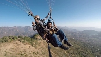 Paragliding in India bhimtal Gopro hero5 Black Camera part 1 #paragliding #bhimtal #india #blogger  #monochrome