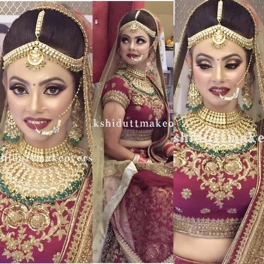 Stunning brides at #meenakshiduttmakeoversdelhi #makeupartistindia #bridalmakeupartistdelhi #indianbridal #indianbridalmakeup #bridalmakeup #indiantraditionawear #brides  #makeup