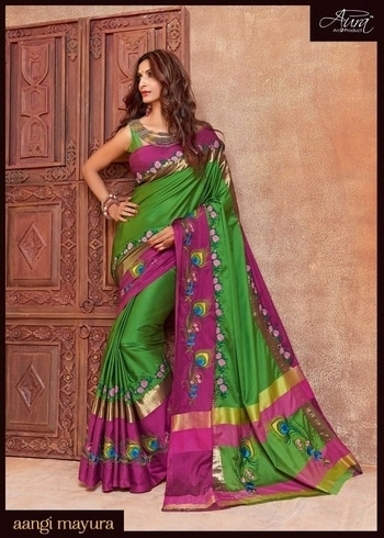 SHRINGAR-BY-AURA-BRIDAL-SAREES-WHOLESALE  Price Per Piece: 1345 Catalog Pieces: 15 Full Catalog Price: 20175  FOR MORE INFO. CONTACT MY WHATSAPP NO. +91-9978610116