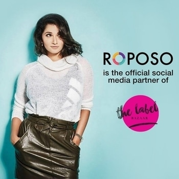 We are thrilled to be the social media partners of @thelabelbazaar. Follow them for more details.  #TheLabelBazaar #SoRoposo #Roposo