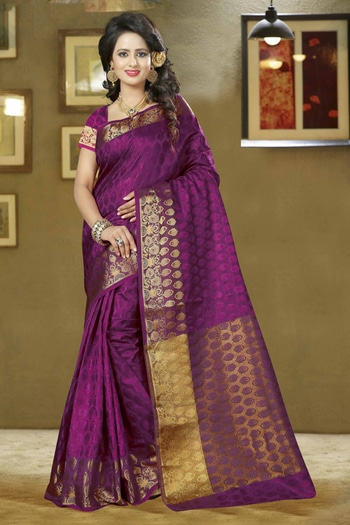 Festival Wear Fuchsia Silk Saree - 80577 @ Rs.1890/-Only   Buy Now : https://goo.gl/I8vGGX   Flat 10% OFF on First Order ( Use Coupon - IAMNEW10 ) Get Free Home Delivery + COD + Easy EMI + Easy Refund / Replacement Policy.!!  *100 % Customer Satisfaction * Stitching Service Available * Hurry Up To Grab Exciting Offer On storeadda !!!! * World Wide Shipping   #saree #sareestyle #sareees #sareeday #sale #sareesonlineshopping #storeadda #roposolove #ethnicfashion   #weddingwear #weddding  #wedding-outfits #silksaree #womensonlineshopping #indianstyle #lifestyleblogger