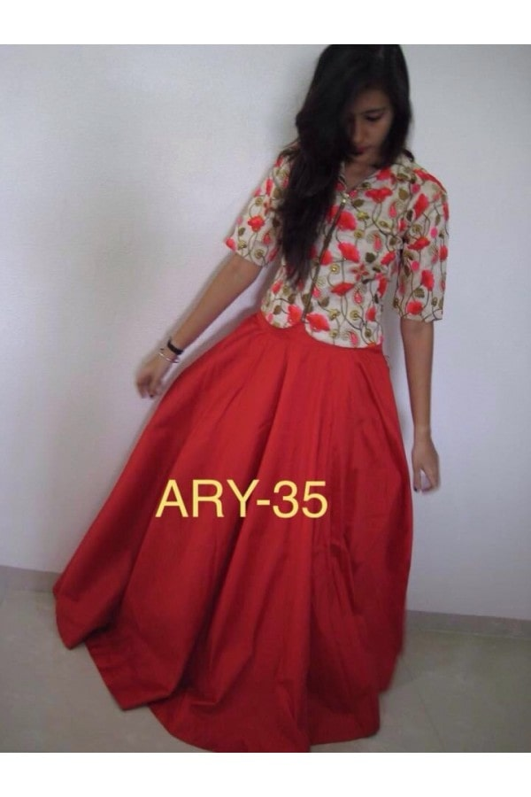 Valentine Special Red Embroidered Skirt With Top - ARY-35 @ Rs.1970/- only  Buy Now : https://goo.gl/RBR7gS  Order On Whatsapp : 09321219977  Flat 10% OFF on First Order ( Use Coupon - IAMNEW10 ) Get Free Home Delivery + COD + Easy EMI + Easy Refund / Replacement Policy.!!  *100 % Customer Satisfaction * Stitching Service Available * Hurry Up To Grab Exciting Offer On storeadda !!!! * World Wide Shipping   #lehengacholi #embroidered #skirttop #sale #storeadda #ethnicwear #partywear #valentinesday #valentinespecail #ghagracholi #chaniyacholi #embroidered #lehengasonline #adorable #croptoplove #croptoplehenga #fashionblogger #blogstyle #bloogers #fashionblog  #lehengas