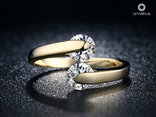 'Love Wrap' is one of our best-selling premium product. It is a stylish adjustable ring and compliments your look for all kind of occasions. Get yourself a love wrap too and stun everyone!  Order here -> https://www.ornativa.com/rings/love-wrap-356.