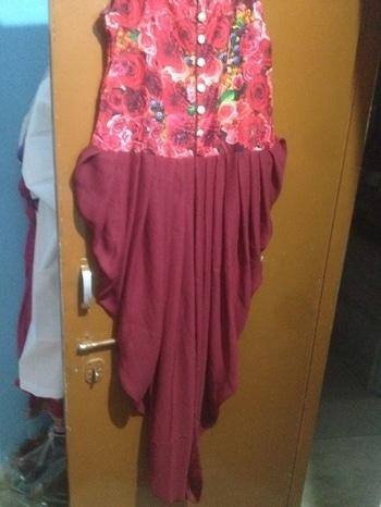 #Digital #Print heavy kurti price: 350/-+$ fabric: heavy jorjet for order WhatsApp on: +918866220011