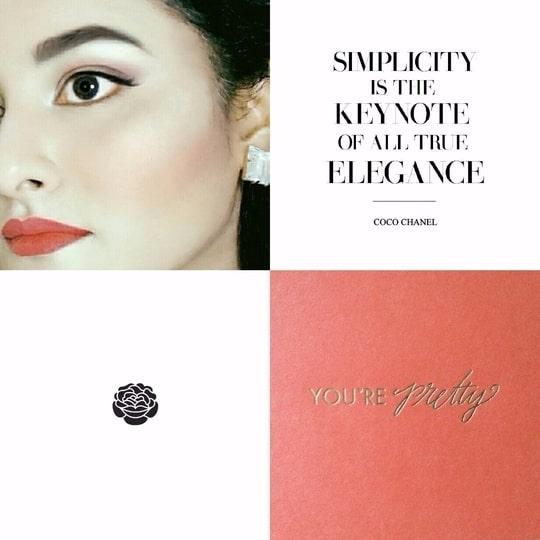 Rhea Khan : Evening Look #coral #chanel #elegant #style #fashion #fashionblogger #styleblogger #fashionblog #styleblog #dubai #dxb #nofilter #lipstick #makeup #mua #soroposo #roposolove #fashionista #pretty #selfie #soroposogirl