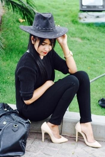 All black outfits are everything ❤️ #slurpnstyle #slurpnstyleblogger #nehasuuuuu #allblackeverything #allblack #tb #styleblogger #indianfashionblogger #style #lifestyle #personalstyle #lookbook #nude #stellitoes #bangalore #bangaloreblogger #whatiwore #swag #roposo #roposolove #soroposo #soroposolove #soroposofashion #roposofashion #roposolive #soroposolook  #fashionblogger