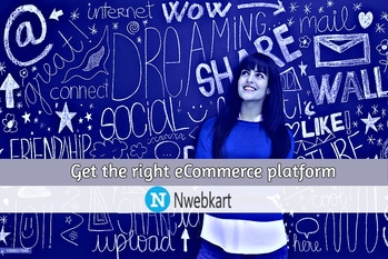 Best eCommerce platform in India | get your business online    Selling online is the easiest way to increase the demands of customers.If you are searching an easy way to make an online store without spending lot of time for development and coding of the store,So we suggest you to start your online store with us.As Nwebkart offers you potential and easy way to start your online store without any hassle and barricades and provide you wide range of services and exclusive features, which more and more people will attract and this raise your online business and earn more profit. So, start your online store now. Starting an online business and making it successful is not that easy that you think as there is lot more thing to do before starting an online store and make profit out of your online business and there is many aspects to start an online store and you also need a reliable and trustworthy platform to start your eCommerce business.So, we suggest you to start your eCommerce store with India's biggest and unique platform. Nwebkart offer you best and exclusive features like logistic support, payment gateways,customization,Beautiful storefront,Custom domain name,Mobile ready website,Social connection and many more with reasonable cost and this generate a huge crowd in your website to try and buy goods and increase your profit. There is no better time to make your online store as now and today. Online store without any eCommerce website are loosing customers and convenient online shopping experience.This trend is important not only for shoppers but for small firms as well. Starting an online store and marketing it to the target market is much easier than purchasing retail market and advertisements and if you thinking to make an online store we suggest you to start up with Nwebkart that support you and fulfill all your requirements without any hassle.So, start your online business with us. Ecommerce has become a rich business industry today, people become faster and rapidly fond of eCommerce shopping.If you also want to take an advantage of this huge eCommerce business and want to work from home as home worker, than there are many ways to start your online business. The good thing for you is to you don't need to create your own products or services to start your online store. Nwebkart is the finest, biggest and unique eCommerce platform that support and guide you to start your online business without any hassle at reasonable cost.So, make your online store and raise your profit. Is your business ready to grow and expand by eCommerce websites? If yes, then search for the best, unique and trustworthy online eCommerce web development company.The surroundings is getting online and there are many ways to increase and expand the web presence around the world with the deliberate differences for various websites. So, if you planning to start your eCommerce website in India  we suggest you the Specialized teams of web developers skilled in front end to end programming are putting calibrated efforts to make the lives easy and convenient. Nwebkart is the best and reliable eCommerce platform that support and guide you to start your online store and raise your online business. So, make your online store with us.   http://nwebkart.com/best-ecommerce-platform-in-india/