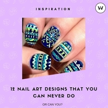 12 Nail Art Designs That You Can Never Do! - http://bit.ly/2maOouu  #nails #nailart #nailartdesigns #nailartwow #nailartaddicts