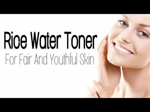 Skin Whitening Secret | Rice Water Face Toner | How to Make it At Home in 2 Ways