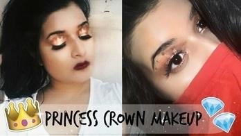Princess Crown Makeup Tutorial . . . . . . #roposoaddict #trendy #delhi #pink #blue #loveydoveycontest #styling #ethnic #dress #aselfieaday #designer #bollywood #streetstyle #loveydovey #followme #jewellery #swag #roposolove #wedding #fashion #desi #soroposo #ootd #style #menonroposo #fashionblogger #newdp #beautyblog #beautyblogger #beautyvlogger #youtuber #youtubechannel #crown #crownmakeup #eyemakeup #makeuptutorial #soroposo #roposoblogger #roposolove #roposogal #trending #trendalert #eyeshadow #kolkata #kolkatablogger  #saree #makeup #makeuplook #princesscrown #love #indianyoutuber #indianbblogger #eyeshadowpalette #getthelook #stealstyle #darklips #darklipstick #colourpop #glitter #glittermakeup #kolkatadiaries