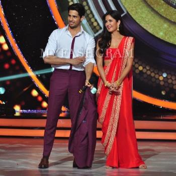 Katrina Saree Style  http://myfashgram.com/celebrity/katrina-kaif-and-sidharth-malhotra-are-giving-us-major-couple-styling-goals/