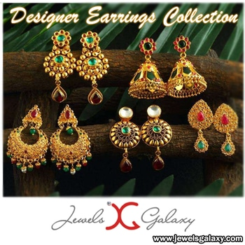 A​s beautiful as it looks a​nd​ equally appealing​.​ ​Our earrings for women Collection. Get these stylish earrings today!  Buy Here: bit.ly/2laqsr2  #weddingdiaries #jewelry #earrings #earringsdesign #jewelsgalaxy