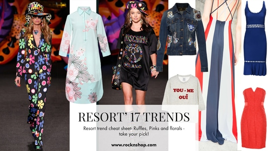 Resort'17 trends look as vivacious as the season itself. Shop these hottest trends with absolute elan only at RockNShop!  https://goo.gl/gLHw8M #resort17 #resort17trends #rocknshop