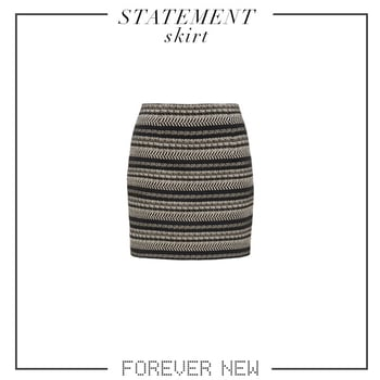 Which is your favorite skirt?Pick now from our latest collection! Available in-stores and online. #forevernewstyle