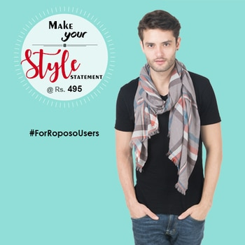 Men Style statement @ Rs.395  #MenScarf are so versatile and fashionable that men of all age group can wear. scarf can be worn anywhere and at any time. Give yourself an elegant touch with this Scarf.  #Menscarves 👉 https://goo.gl/G5PtmL  #fashion #iralzo #scarves #onlinestore #onlineshopping #weekend #style #shopping #mumbai #delhi #pune #bangalore #india #fashionblogger #sodelhi #somumbai #sopune #sobangalore #collegelife #menvideo #video #love #indianfashionblogger #eoss #endofseasonsale #sale