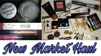 New Market Affordable Haul || Holographic glitter, makeup , jewellery | Sayantani Some      #makeup #newmakeup #newmarket #haul #makeuphaul #affordablemakeup #kolkata #kolkatablogger #kolkatayoutuber #youtuber #youtubecreators #youtubecreatorindia #bengaliblogger #bengaliyoutuber #kolkatayoutuber #sivanna #sivannacolors #kissbeauty #vov #nailpolish #accessorize #highlight #foundation #holographic #glitter #kylie #kyliecosmetics #kylielipkit #musicflower #haulvideo #newstuff #makeupproducts