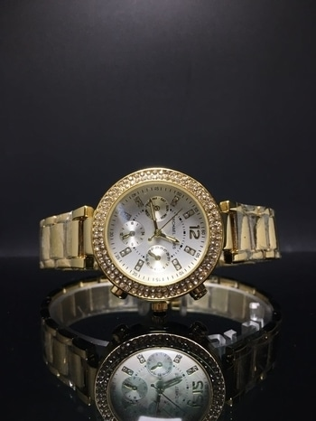 MK ladies non chronograph watch for Rs.900 only, Grab soon..!! Genuine Buyers Only.Send a picture/link to order.  Buy @ 9920623235.  Free Shipping all over India. Paytm, Freecharge or Bank trf accepted. 3 to 5 days for delivery.  FYI-no exchange,return or refund.No COD available.   Thank you.