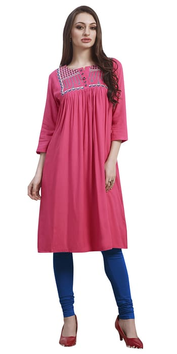 ✔#Rs 1400 ✔Wondrous Pink Rayon #Kurti. ✔WhatsApp 8097909000   👉Click Here to Buy http://bit.ly/2kr2TZw   ✔#Nallucollection #style #fashion #ethnic #beauty #fashion #fashionista #fashionable #fashionstyle #shoutout #style #trending   ✔Follow us on : Twitter http://bit.ly/2hi954w ✔Facebook : http://bit.ly/2gSgnLE ✔Pint rest : http://bit.ly/2jP9PTJ ✔Google + : http://bit.ly/2kYWNQp
