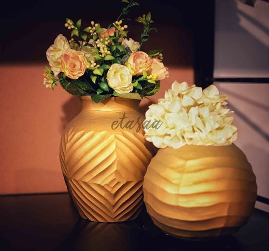 Gold cut glass vase :) a lovely piece to enhance the look of your house like never before  <3 Visit us: https://www.facebook.com/EtasaaOfficial/ #roposotimes #ropo-good #trendy  #indianaccessories #followmeonroposo #followmeoninstagram #photoshoot #love #love
