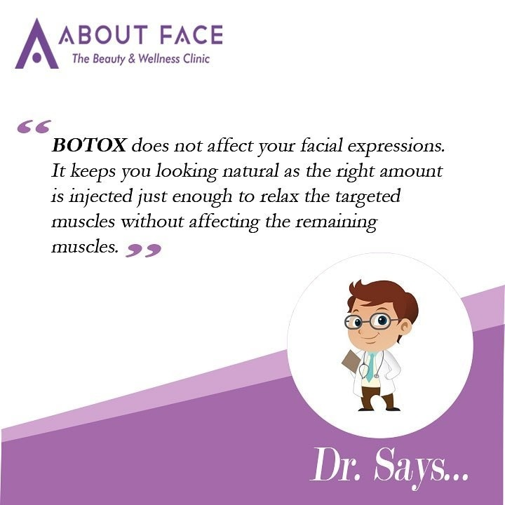 Women are usually concerned about losing their natural expressions after botox. So we asked our expert doctors to throw some light.. Have any other concern? Please feel free to ask in the comments section #aboutfaceindia #dr #drsays #skin #botox #botoxfiller #skincare #skincareroutine #naturalskincare #dermatologist #dermatology #mumbai #beauty #wellness #health #healthyskin #roposodaily #roposogal #roposobeauty