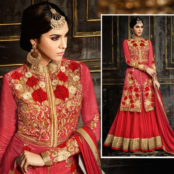 Buy at www.shoppingover.com Search Code 3991HL Order at https://goo.gl/q1nbDJ Stitching service provided International Delivery - Charges apply Domestic COD & Free Shipping Secure payments by PayPal &ICICIMS 100% Genuine & High Quality Dresses #roposodesignbox #valentinesday #happy #partystarter #salwarsuitonline #salwarkameez #anarkalisuit #lehengacholi #india #selfieoftheday #lifestyleblogger #red #streetstyle #winter #photography #beauty #photooftheday #style #ootd #followme #indianblogger #likeforlike #fashion #saree #sareez  #fashionbloggers #picoftheday #beautiful #roposoblogger #roposogal #fashionblogger #fashionista #love #newdp #menonroposo
