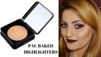 *NEW* PAC Baked Highlighters Review