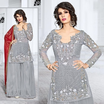 Buy at www.shoppingover.com Search Code 9002LKR Order at https://goo.gl/BLzM6O Stitching service provided International Delivery - Charges apply Domestic COD & Free Shipping Secure payments by PayPal &ICICIMS 100% Genuine & High Quality Dresses #roposodesignbox #valentinesday #happy #partystarter #salwarsuitonline #sharara #anarkalisuit #lehengacholi #india #selfieoftheday #lifestyleblogger #red #streetstyle #winter #photography #beauty #photooftheday #style #ootd #followme #indianblogger #likeforlike #fashion #saree #sareez  #fashionbloggers #picoftheday #beautiful #roposoblogger #roposogal #fashionblogger #fashionista #love #newdp #menonroposo