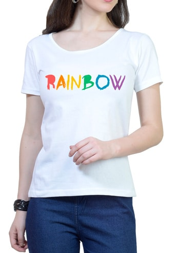 https://www.wolfattire.com/collections/printed-t-shirts/products/rainbow-womens-round-neck-t-shirt   #myfirststory  #likeforlike #model #love #designer #anewday #soroposo #menonroposo #myfirstpost #style #fashion #roposo #fashionblogger #ropo-love #blogger #roposogal #ootd #roposolove #colorfullife #women #like #love #white #tshirt #girls #beautiful  #rainbow #colourful