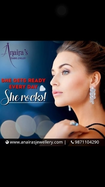 Let us be the part of the special moments of your life. Order now to look best: http://www.anairasjewellery.com/ #AnairasJewellery #Diamond #OnlineShopping #Exclusive #Fashion