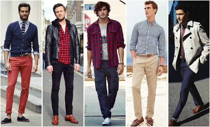 Different ways to style a check shirt Read More at: https://goo.gl/Aff6Iq