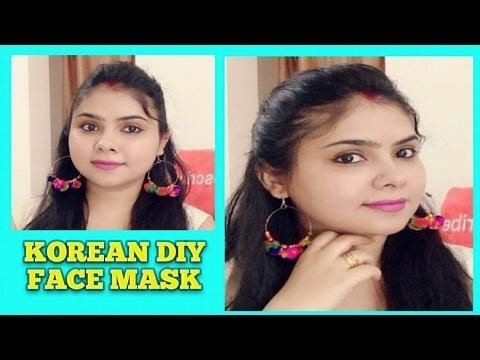DIY SKIN WHITENING KOREAN SECRET FACE MASK #korean, #skincare, #beauty., #diy. #lightenskin, #acne