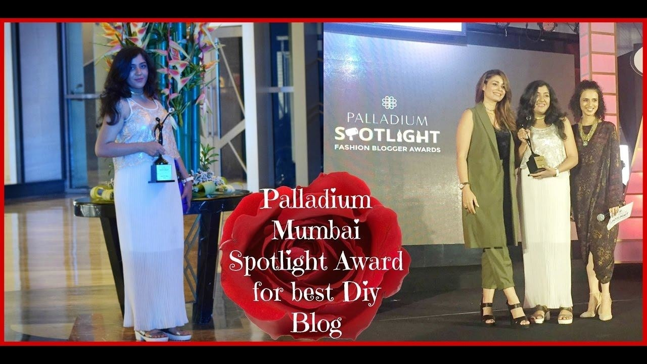 Palladium Mumbai Spotlight Award ll Best DIY Blog Head over to my youtube channel.See my vlogging journey and receiving my first ever Palladium Mumbai Mumbai​ #Spotlight Award https://youtu.be/xR9vjuOmBRI #bestdayever #bbloggers #indianfashionblogger #Spotlightawards #spoton #onspot #fashion #beauty #indianyoutuber #youtubeindia #newlook #ootd #ootn #makeup #makeupblogger #DIY #streetstyle #youtubeindia The Fatsmeagol Collective