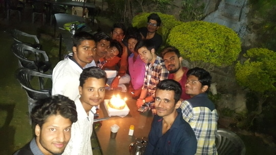 #Birthd@y celebration in 27 feb with my all closest friends :):<3