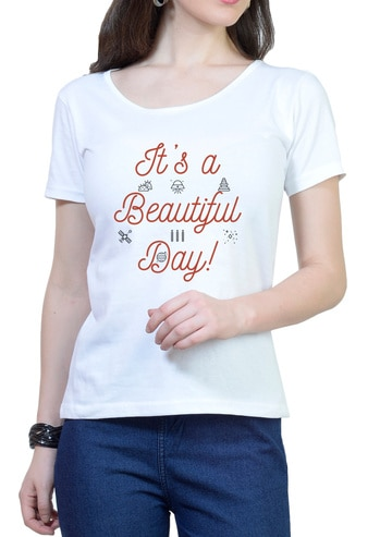 https://www.wolfattire.com/collections/printed-t-shirts/products/its-a-beautiful-day-womens-round-neck-t-shirt-1  #myfirststory  #likeforlike #model #love #designer #anewday #soroposo #menonroposo #myfirstpost #style #fashion #roposo #fashionblogger #ropo-love #blogger #roposogal #ootd #roposolove #colorfullife #women #like #love #white   #tshirt #girls #beautiful  #attitude #dayout #beautifulday