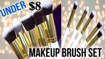 Under $8 Makeup Brush Set Demo || DenDiva #soroposo #roposogal #makeup #makeupporn #eye-makeup #makeupinindia #makeupandbeautyblogger #makeupbrushes #makeupbrushset #makeupbasics #makeupblogger #cheapmakeup #smokey #smokyeyes #smokeyeyemakeup #coral #corallips #foundationbrush #foundationbrushes #concealerroutine #blendingbrushes #blendingbrush