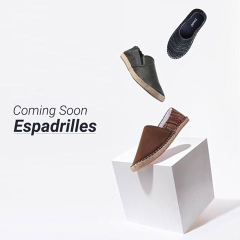 It's time to make way for summer shoes.  New collection to hit the online store tomorrow. Save the date.   In the meantime check out our current collection @ https://goo.gl/Y3XYmr   #newarrivals #newshoes #espadrilles