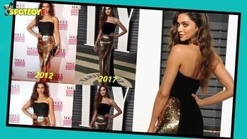 OOPS! Deepika Padukone Repeats Her 2012 Look At Oscars 2017 | Bollywood News  #deepikapadukone #deepikapadukonestyle #spotboye #bollywood #oscars #oscars2017 #roposo #dress #india #fashionista #padmavati #trendy #makeup #bollywoodfashion #hollywood #redcarpet #redcarpetlook