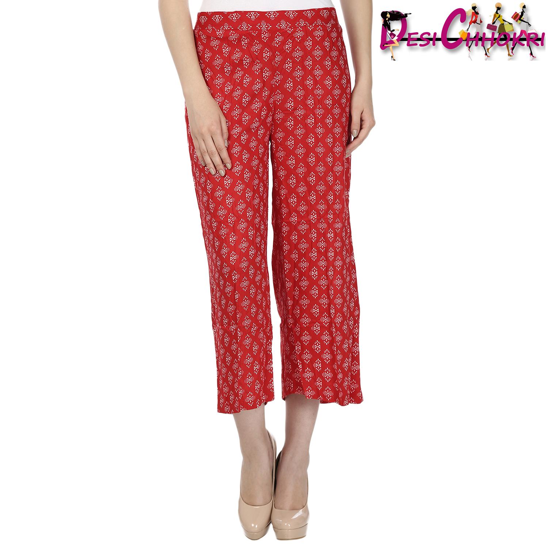 shop here ::   http://desichhokri.com/palazzo/322-desi-chhokri-red-white-printed-palazzos.html  At just  572/-   :D
