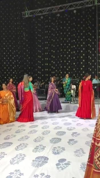 #Rehersals Live Singer #UshaUthap #Designer @gaurangshah 💖💖💖