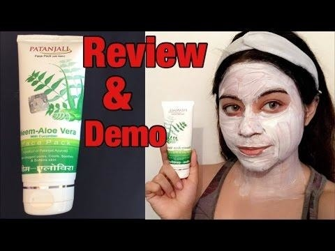 New video alert .glowing skin in 15 mins patanjali neem-aloe Vera face pack  - review Dimple D'souza chennai youtuber . Do hit a like , comment share and subscribe to see more from my end  👍🏼😍