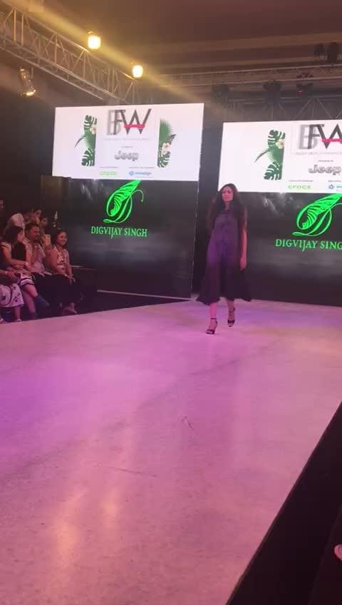 #ibfw2017 #lookfordesigner #digvijaysingh #deadlook #runwayrising #modellife #modeldiaries